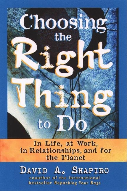 Choosing the Right Thing to Do als eBook epub