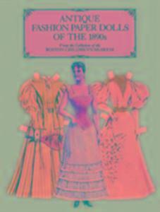 Antique Fashion Paper Dolls of the 1890s in Full Colour als Taschenbuch