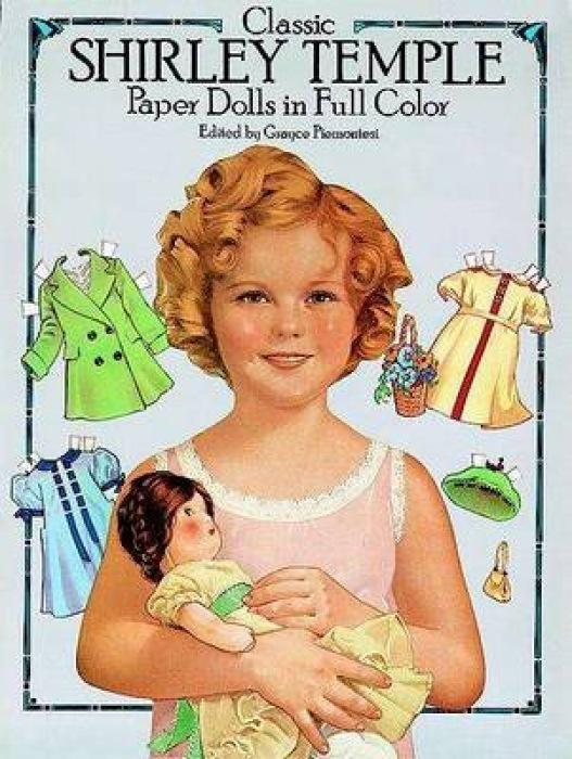 Classic Shirley Temple Paper Dolls in Full Colour als Sonstiger Artikel
