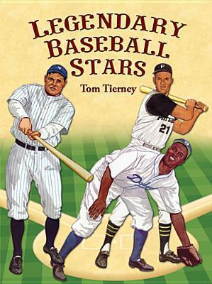 Legendary Baseball Stars Paper Dolls in Full Colour als Taschenbuch
