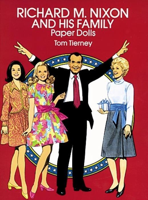 Richard M. Nixon and His Family Paper Dolls als Taschenbuch