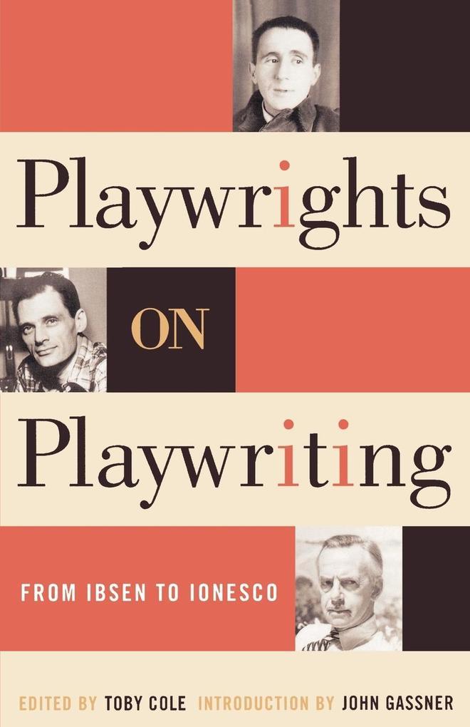 Playwrights on Playwriting als Taschenbuch