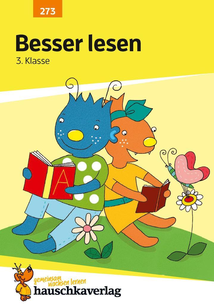 Besser lesen 3. Klasse als Buch (geheftet)