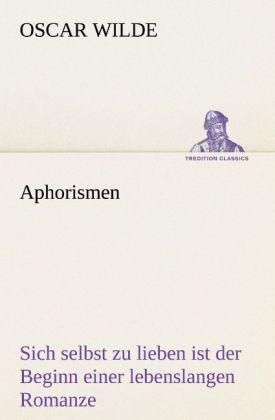 Aphorismen als Buch (kartoniert)
