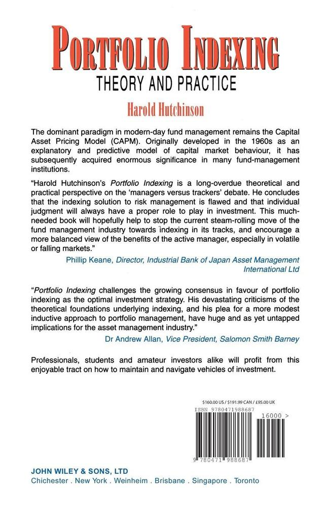 Portfolio Indexing als Buch (gebunden)