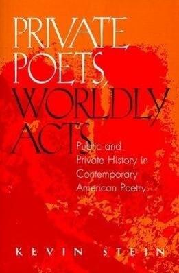 Private Poets, Worldly Acts als Taschenbuch