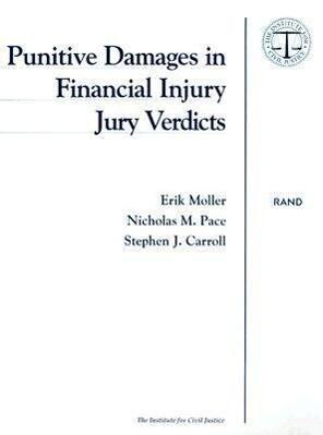 Punitive Damages in Financial Injury Jury Verdicts als Taschenbuch