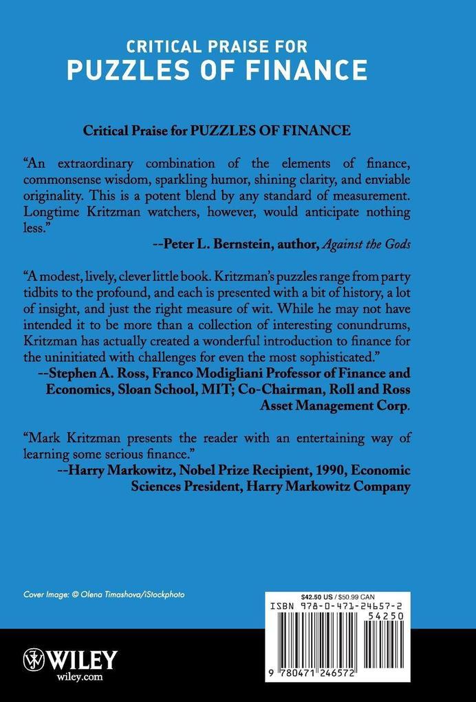 Puzzles of Finance C als Buch (gebunden)