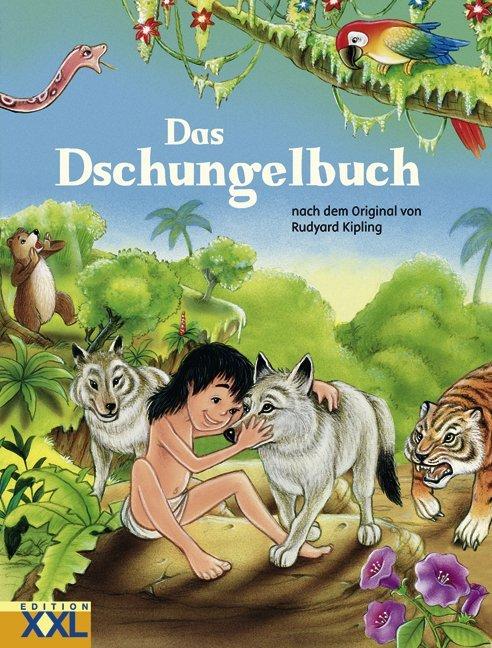 Das Dschungelbuch als Buch (gebunden)