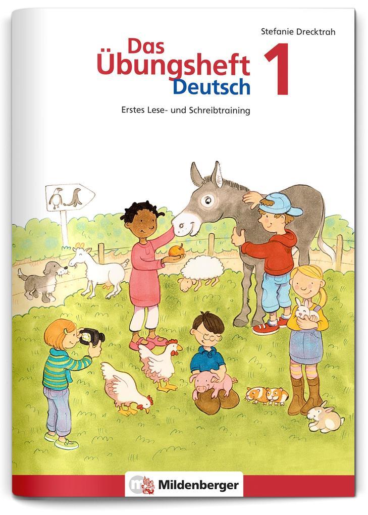 Das Übungsheft Deutsch 1 als Buch (geheftet)