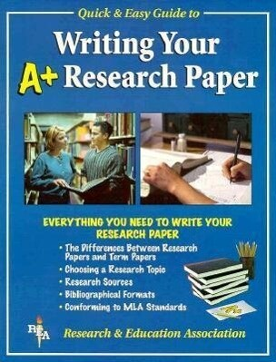 Rea's Quick and Easy Guide to Writing Your Research Paper als Taschenbuch