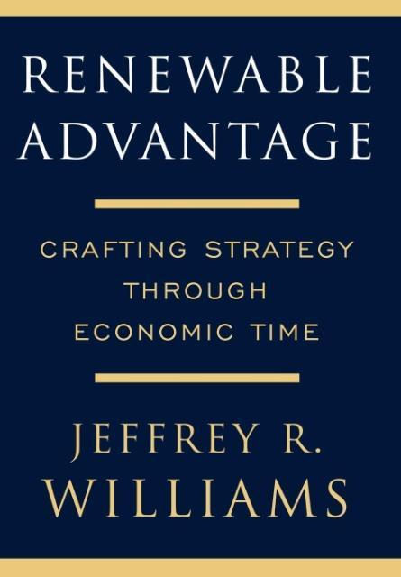 Renewable Advantage als Buch (gebunden)