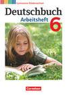 Deutschbuch 6. Schuljahr. Arbeitsheft mit Lösungen Gymnasium Niedersachsen