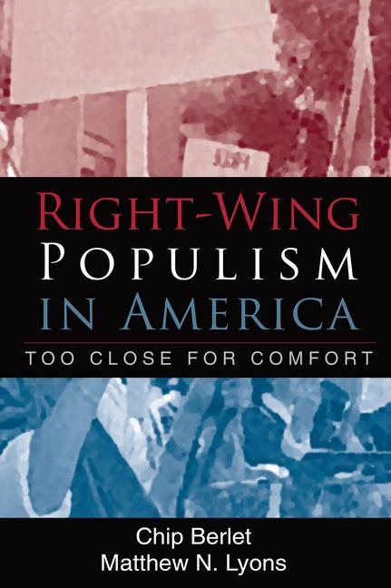 Right-Wing Populism in America: Too Close for Comfort als Taschenbuch