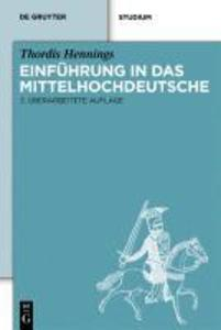 Einführung in das Mittelhochdeutsche als eBook pdf