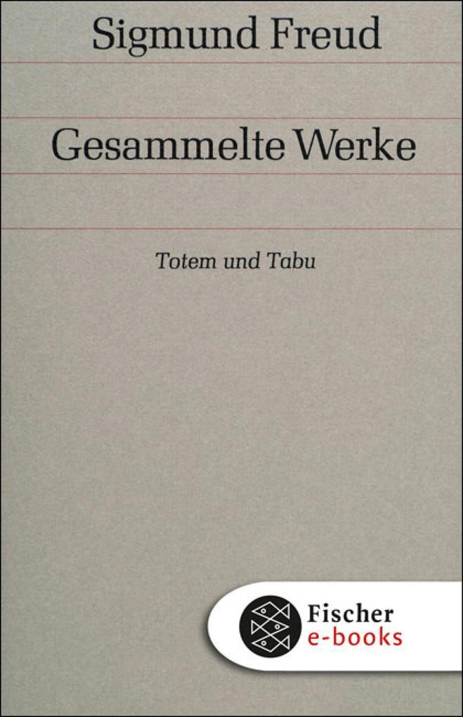Band 9: Totem und Tabu als eBook epub