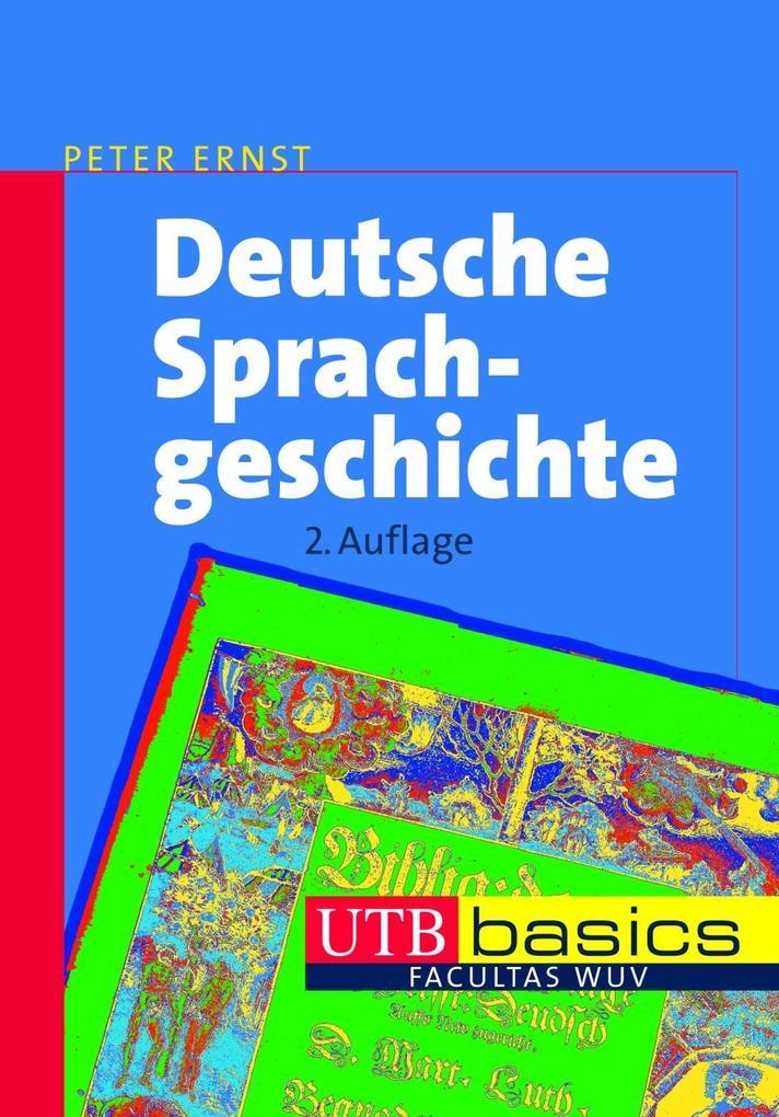 Deutsche Sprachgeschichte als Buch (kartoniert)