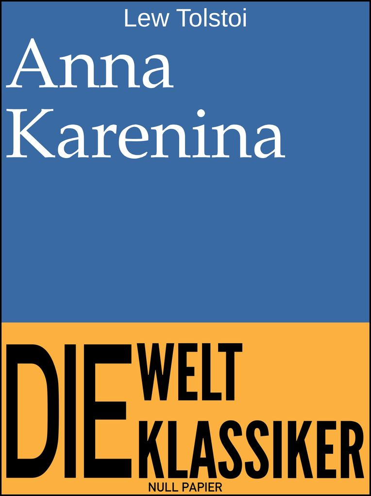 Anna Karenina als eBook epub