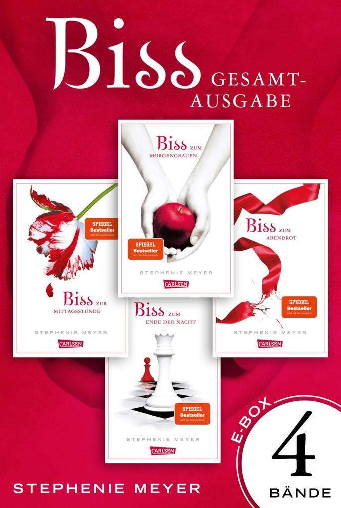 Bella und Edward. Bis(s)-Gesamtausgabe, Band 1 - 4 als eBook