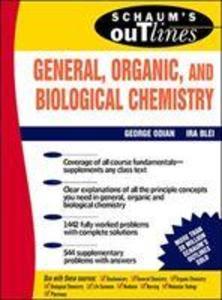 Schaum's Outline of General, Organic and Biological Chemistry als Buch (kartoniert)