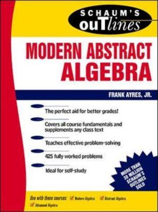 Schaum's Outline of Modern Abstract Algebra als Buch (kartoniert)