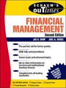 Schaum's Outline of Financial Management als Taschenbuch