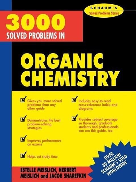 3000 Solved Problems in Organic Chemistry als Taschenbuch