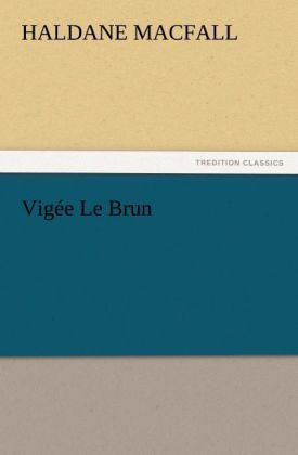 Vigée Le Brun als Buch (kartoniert)