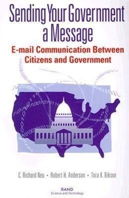 Sending Your Government a Message als Taschenbuch