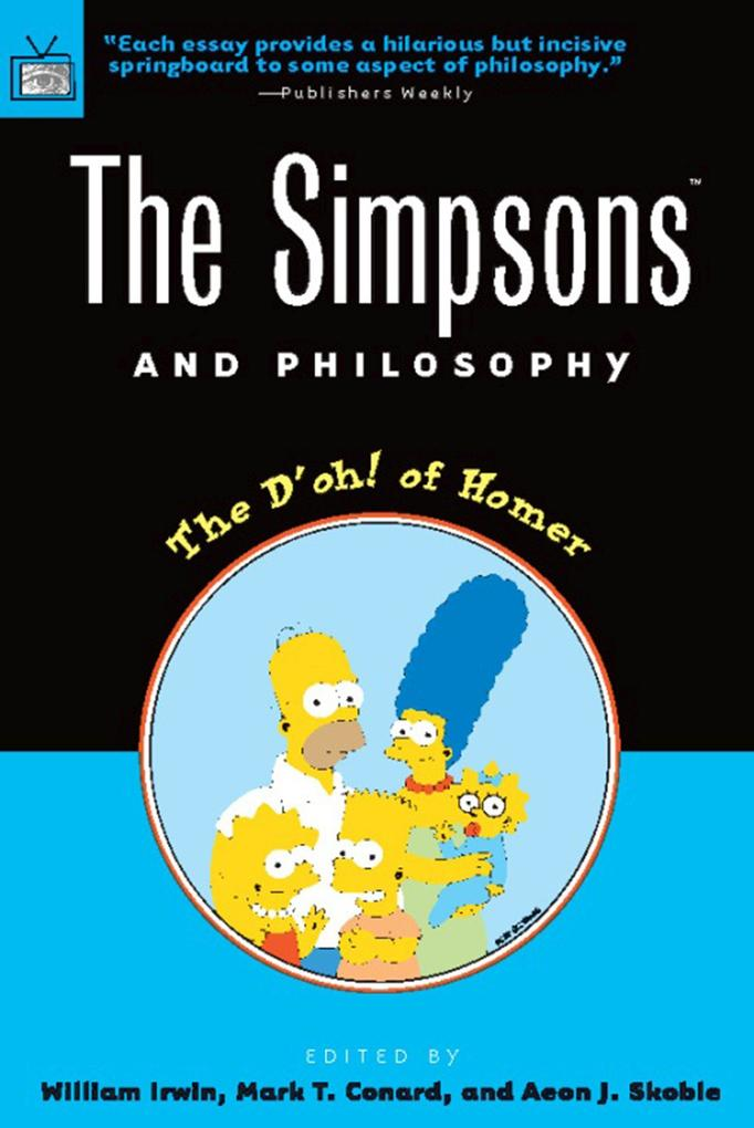 The Simpsons and Philosophy als Taschenbuch