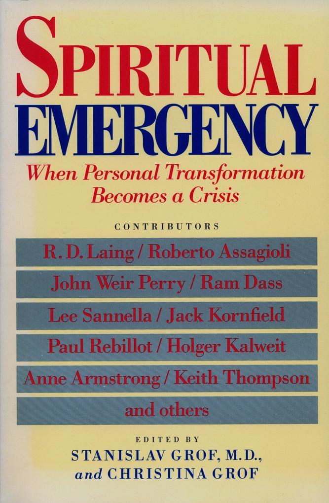 Spiritual Emergency als Taschenbuch