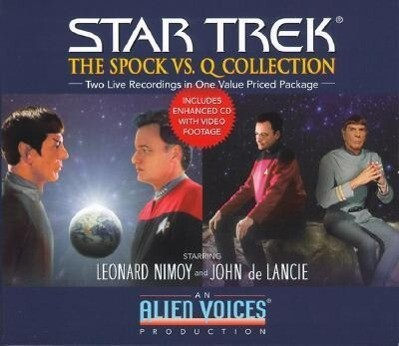The Spock Vs. Q Gift Set als Hörbuch CD