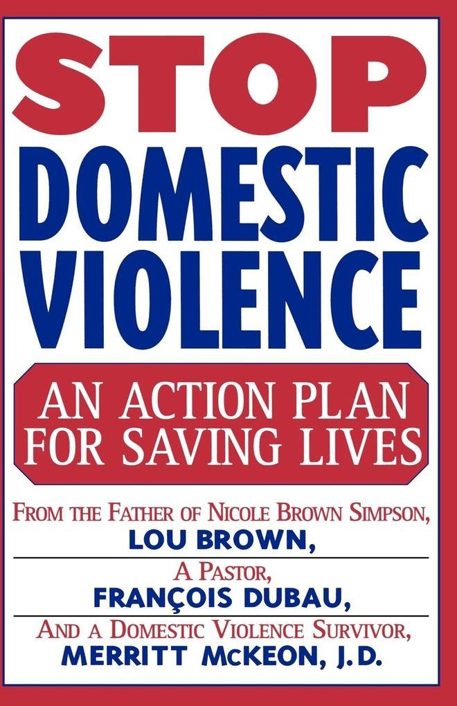 Stop Domestic Violence als Taschenbuch