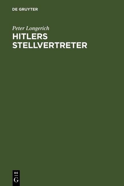 Hitlers Stellvertreter als eBook pdf