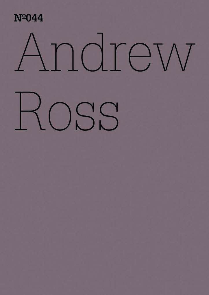 Andrew Ross als eBook epub