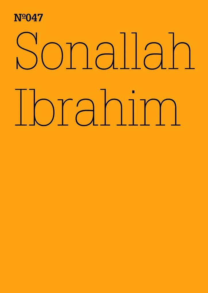 Sonallah Ibrahim als eBook epub