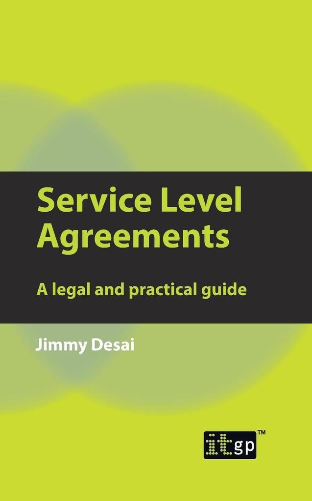Service Level Agreements als Buch (kartoniert)