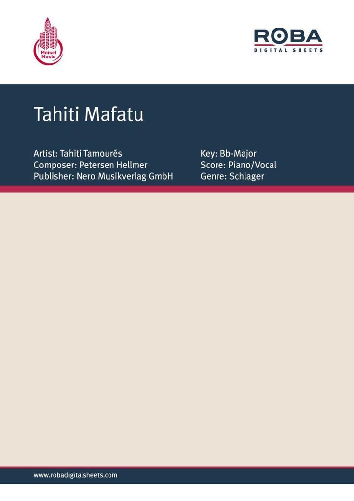 Tahiti Mafatu als eBook pdf