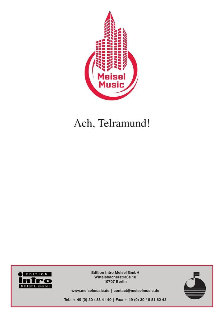 Ach, Telramund! als eBook epub