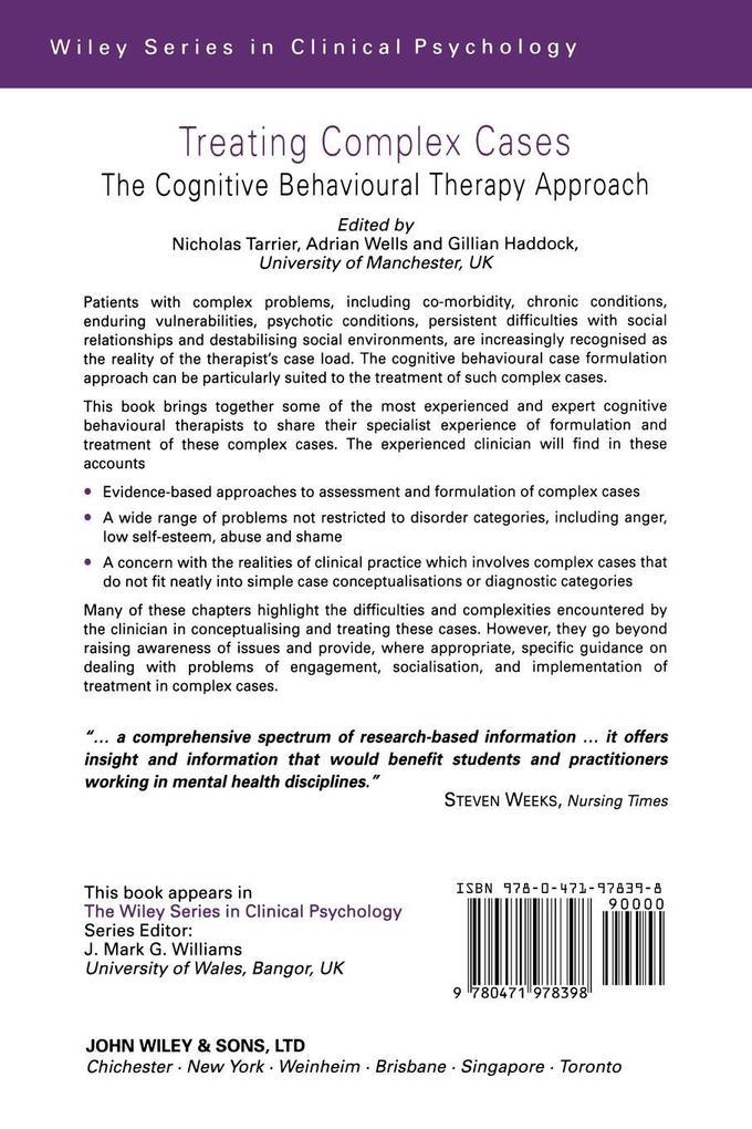 Treating Complex Cases als Buch (kartoniert)