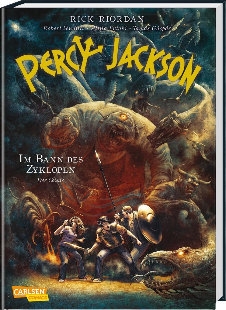 Percy Jackson (Comic) 02: Im Bann des Zyklopen als Buch (gebunden)