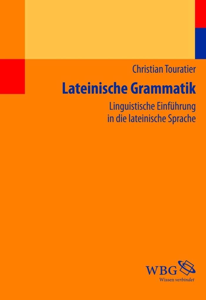 Lateinische Grammatik als Buch (kartoniert)
