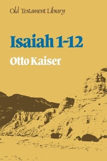 Isaiah 1-12 als Taschenbuch