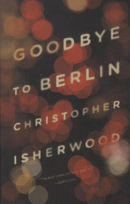 Goodbye to Berlin als Taschenbuch