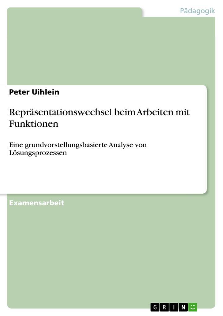 Repräsentationswechsel beim Arbeiten mit Funktionen als eBook pdf