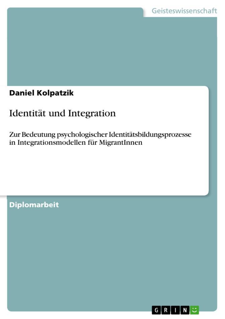 Identität und Integration als eBook pdf