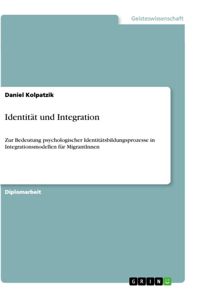 Identität und Integration als Taschenbuch