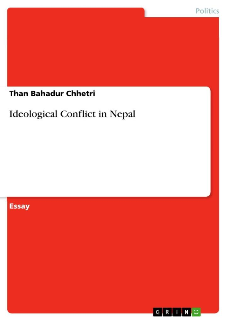 Ideological Conflict in Nepal als eBook epub