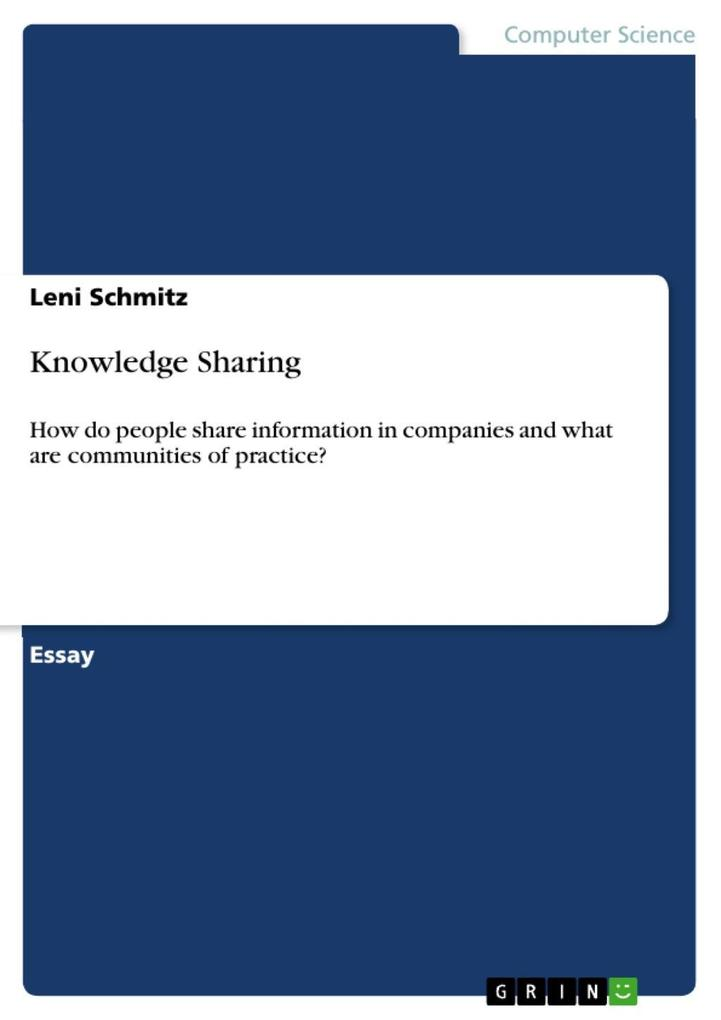 Knowledge Sharing als eBook epub