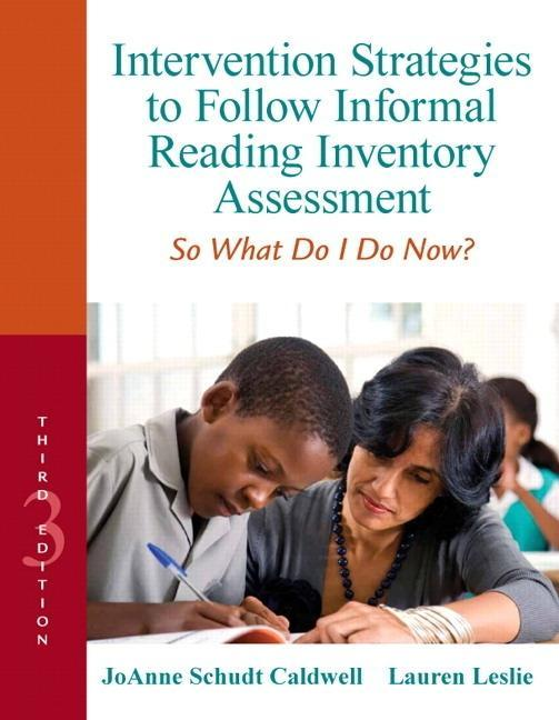 Intervention Strategies to Follow Informal Reading Inventory Assessment als Buch